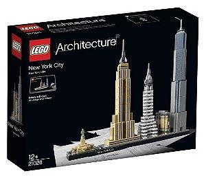 Novo Lego Architecture Cidade de Nova Iorque 598 Peças 21028