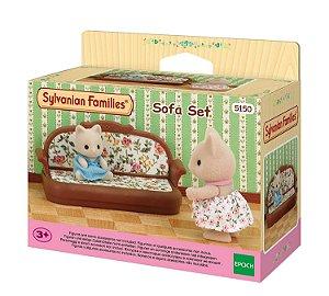 Brinquedo  Sylvanian Families Conjunto Sofa Epoch   5150