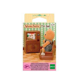 Brinquedo Sylvanian Families Conjunto Televisão Epoch 5150