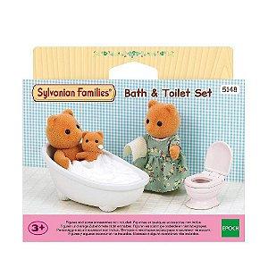 Brinquedo Sylvanian Families Conjunto Toalete Epoch 5150