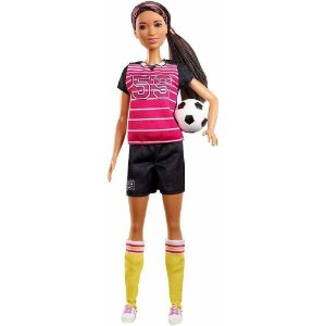 Nova Boneca Barbie Quero Ser 60 Anos Atleta Mattel Gfx23
