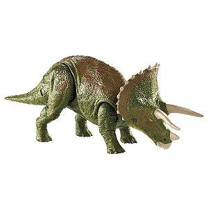 Jurassic World Dino Rivals Ataque Duplo Triceratops GDT42