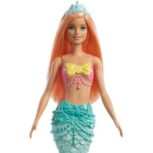 a2043aff37 Brinquedo Boneca Barbie Dreamtopia Sereia Rosa Mattel Fxt08 zoom