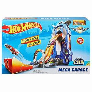 Brinquedo Pista Hot Wheels Mega Garagem Mattel Ftb68