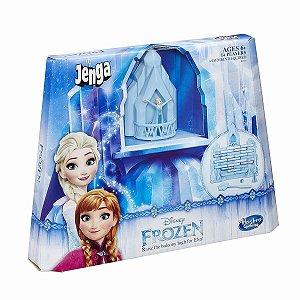 Brinquedo Jogo Jenga Disney Frozen Castelo Elsa Hasbro B4503