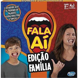 Brinquedo desafio FALA AI EDICAO FAMILIA C3145 Hasbro