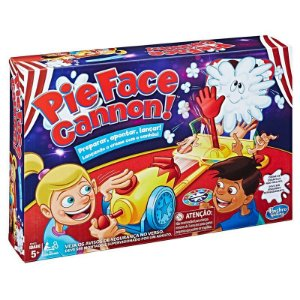 Jogo De Tabuleiro Pie Face Cannon Canhão Hasbro Gaming E1972