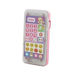 Telefone Emojis Primeiras Palavras Menina Fisher Price Fhj18