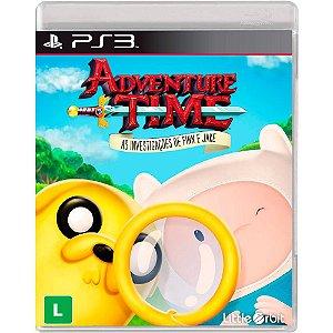 Jogo Novo Adventure Time As Investigações De Finn E Jake Ps3