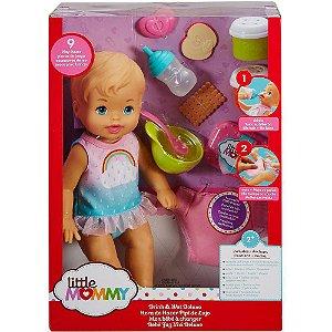 Nova Boneca Little Mommy Bebe Faz Xixi Deluxe 31 cm Fkd02