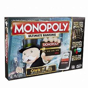 Hasbro Monopoly Ultimate maquina cartão eletronico B6677