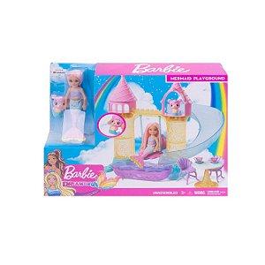 Barbie Dreamtopia Chelsa Parque Aquático Das Sereias Mattel
