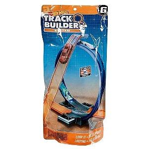 Hot Wheels Track Builder System Volta Looping Mattel Fnj22