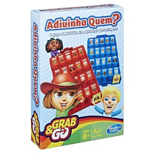 Brinquedo Jogo Grab E Go Adivinha Quem?hasbro B1204