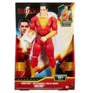 Figura de Ação Shazam C/ Luzes e Som 30cm Mattel Ggy38