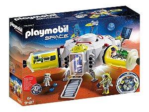 Novo Brinquedo Playmobil Estação Espacial C/Acessórios  9487
