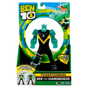 Boneco Ben 10 Transformaçao Deluxe Diamante Sunny 1794