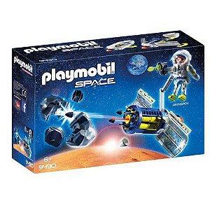 Brinquedo Playmobil Space Satélite Com Laser Sunny 9440