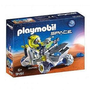 Brinquedo Playmobil Space Triciclo Marciano Sunny 9491