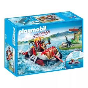 Playmobil Hovercraft Dino Com Motor Subaquático Sunny 9435