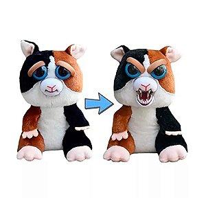 Novo Brinquedo Pelucia Feisty Pets Tico Trovoada Dtc 4714