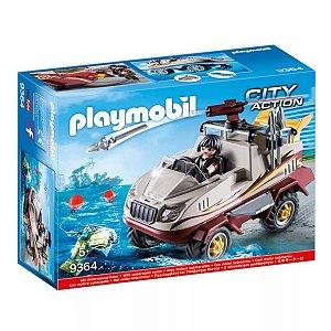 Novo Playmobil Action Caminhão Anfibio Fugitivo Sunny 9364