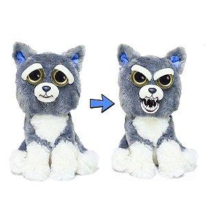 Novo Brinquedo Pelucia Feisty Pets Paco Pancada Dtc 4714