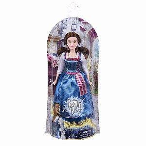 Brinquedo Boneca Bela E A Fera Vestido De Vilarejo B9164