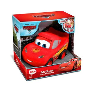 Brinquedo Carros Relampago McQueen com Atividades Elka 999