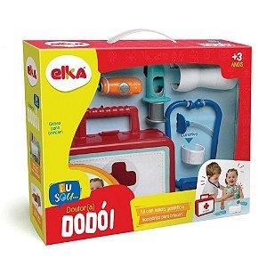 Brinquedo Playset Profissões Kit Medico Dr Dodói Elka  951