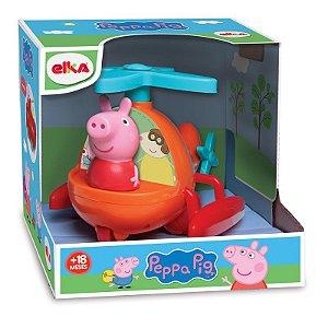 Novo Brinquedo Peppa Pig Helicoptero e Peppa Elka 1100