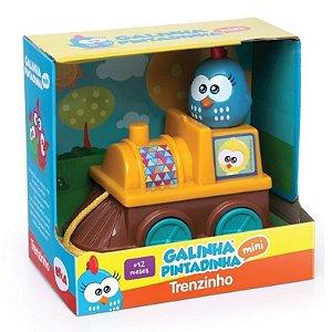 Novo Brinquedo Mini Trenzinho Galinha Pintadinha Elka 1046