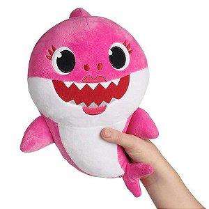 Nova Pelucia Musical Baby Shark 30cm Mommy Shark Toyng 39269