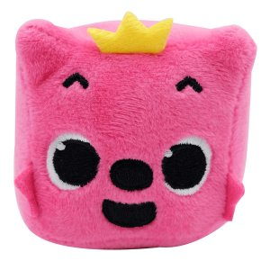 Pelucia Musical Baby Shark Pinkfong Cubo Rosa Toyng 39258