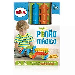 Blocos De Montar Pinão Mágico Elka 30 Peças 1101