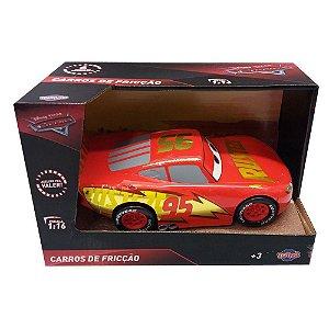 Carrinho De Fricção Carros 3 Toyng McQueen Clássico 29534