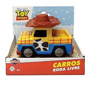 Brinquedo Carrinho Rodas Livres Toy Story Woody Toyng 34220