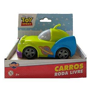 Brinquedo Carrinho Rodas Livres Toy Story Aliens Toyng 34220
