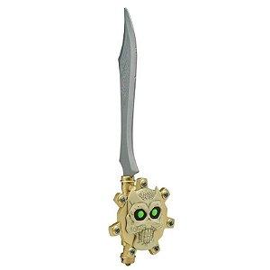 Brinquedo Espada Calabrass com Moeda Zak Storm Estrela 41600