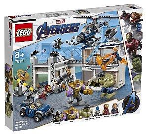 Brinquedo Lego O Combate no Quartel dos Vingadores 76131