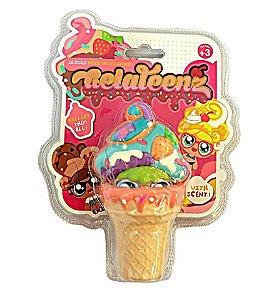 Novo Brinquedo Boneca Surpresa com Aroma Gelateenz Dtc 5106