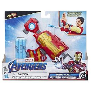 Lançador de Dardos Nerf Repulsor Homem de Ferro Hasbro E4394