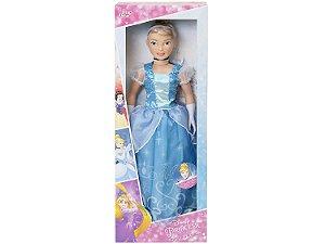 Princesa Disney Boneca Encantada Cinderela 80cm BabyBrink