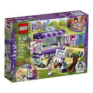 Brinquedo Bloco de Montar Lego A Banca De Arte Da Emma 41332