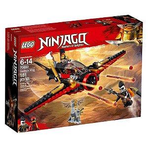 Brinquedo Bloco De Montar Lego Ninjago Asa Do Destino 70650