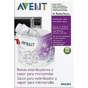 Sacos Para Estilização a Vapor Philips Avent 2561
