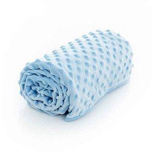 Manta Infantil Azul Popcorn 70x100Cm Infanti 0m+ Enx007