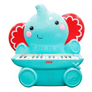 Brinquedo Teclado Infantil Elefante 25 Teclas Fisher-Price