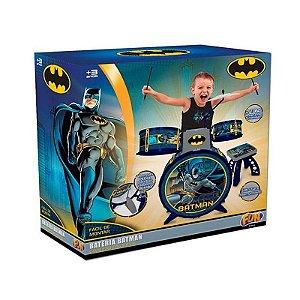 Nova Bateria Infantil Batman Cavaleiro Das Trevas Fun 8080