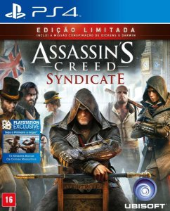 Jogo Novo Midia Fisica Assassins Creed Syndicate para Ps4